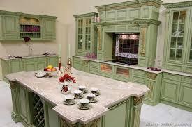 Gold Kitchen Cabinets Green Kitchen Cabinets