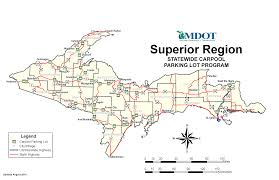 Upper Peninsula Michigan Map by Where To Park