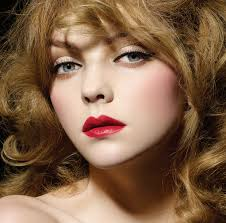 a quintessential parisian look a perfect plexion is the best backdrop for a bold red lip unless you re opting for a moulin rouge sort of look eye