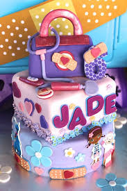 doc mcstuffin birthday cake kara s party ideas cake from a doc mcstuffins birthday party via