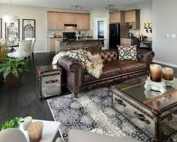 Living Room Ideas With Leather Sofa Decor Around Distressed Leather Sofa Pinteres