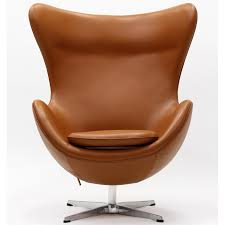 arne style egg chair in leather multiple colors materials
