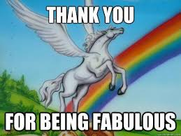 Unicorn Meme - a unicorn thank you from this escape room meme pinterest
