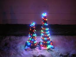 traffic cone christmas tree 7 steps