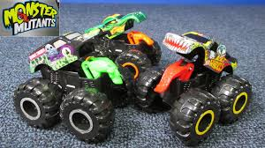 you tube monster truck jam wheels monster jam monster mutants with opening features