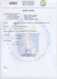 Sle Letter Of Certification Of Attendance Issuances Deped Antipolo