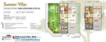 single storey semi detached house floor plan extraordinary semi d house design plan contemporary best ideas