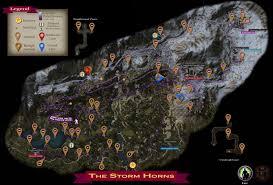 Storm Map Stormhorns Map