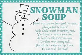 funky polkadot giraffe january fun snowman soup