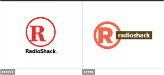 pictures radioshack s new logo and store design business insider
