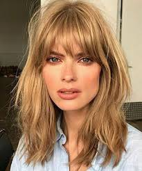 lob haircut with bangs 21 luscious long bobs styling ideas to inspire you
