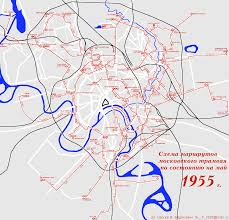 Moscow On Map Moscow Tramway Maps