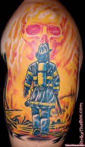 left half sleeve firefighter tattoo tattoo viewer com