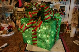 pre lit christmas gift boxes how to make a lighted christmas box decoration light covers