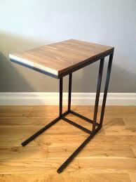 side table with laptop storage side table side table desk living room with storage elegant rustic