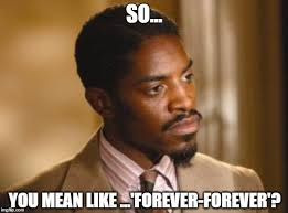 Forever Meme - image tagged in forever andre 3000 imgflip