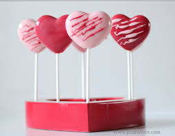 chocolate heart candy easy chocolate heart pops pinkwhen