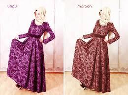 Baju Muslim Brokat 40 model baju brokat terbaru 2016 contohbusanamuslim
