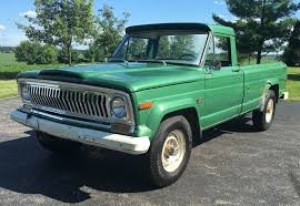 jeep hauling trailer no reserve fairway green 1974 jeep j20 bring a trailer