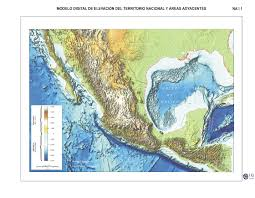 Mexican State Map by Encyclopedia Entries