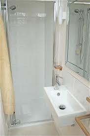 bathroom decorating ideas for small bathrooms modern minimalis small bathroom decorations white rectangular sink shower walls large mirror cream ceramic flooring
