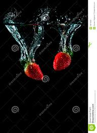 red martini splash cool strawberry splash stock photo image of edible isolated