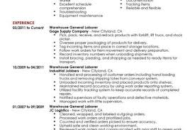 General Laborer Sample Resume by Lineman Resume Template Reentrycorps