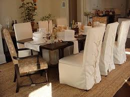 Dining Room Chair Cover Ideas Formal Dining Room Chair Covers