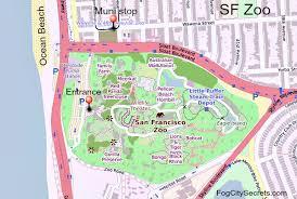 san francisco map my run san francisco zoo