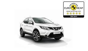 nissan qashqai is euro ncap u0027s safest small family car of 2014