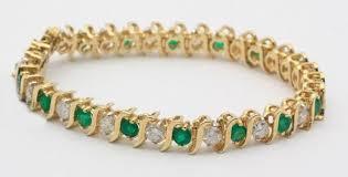 bracelet designs images Gemstone bracelet designs 2 50 ct diamond emerald gold jpg&a