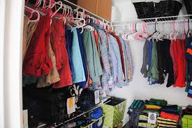 budget closet remodel tackling the boys u0027 closet i u0027m flying south