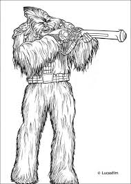 wookie soldier gun coloring pages hellokids