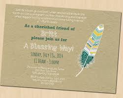 baby blessing invitation blessing way invitation custom