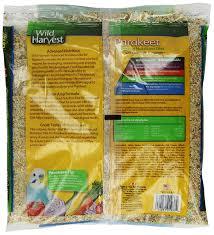 amazon com wild harvest parakeet advanced nutrition diet 4 pound