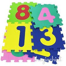 tappeto puzzle disney tappeto puzzle mattonelle con 9 numeri tappetini e palestrine