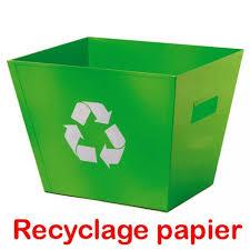 recyclage papier de bureau poubelle tri sélectif comparez les prix pour professionnels sur