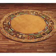 Green Round Rug by Rugs Bay Area Roselawnlutheran