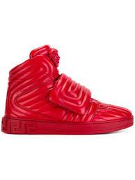 high tops versace hi tops luxury hi top sneakers farfetch