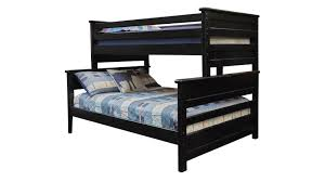 Black Bunk Beds Turkey Creek Black Bunk Bed By Vaughan Bassett