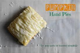 Pumpkin Toaster Strudel Pumpkin Hand Pies