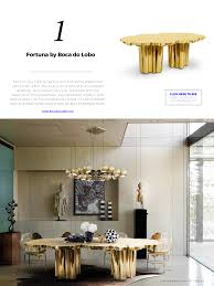dining tables modern design 60 modern dining tables for an amazing dining room new york