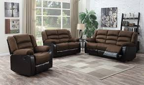 Reclining Sofa And Loveseat Set 2 Pc Candice Brown Reclining Sofa Loveseat Set