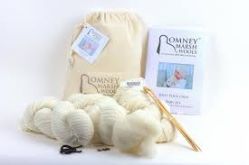 romney marsh wools our range knitting kits