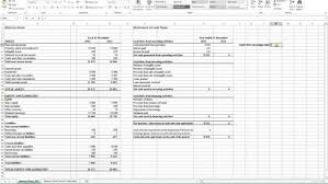 Profit And Loss Statement Excel Template Flow Statement Exle Excel Profit And Loss Statement Excel