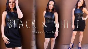 black and white ideas for women dressy u0026 casual