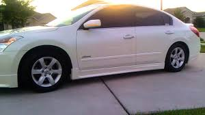 nissan altima white 2006 altima bodykit walkaround youtube