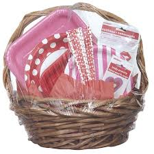 where to buy plastic wrap for gift baskets jumbo shrink wrap