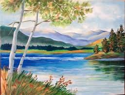 best 25 scenery paintings ideas on pinterest sunset painting