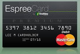 free prepaid card espree prepaid mastercard